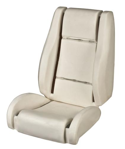 Mustang Sport R Bucket Seat Foam, Non Air Bag Seat (05-07)