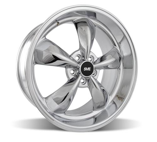 Mustang Bullitt Wheel - 20x10 Chrome (05-14) - Picture of Mustang Bullitt Wheel - 20x10 Chrome (05-14)