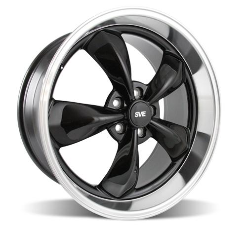 "2005-14 Mustang Bullitt Wheel 20x810"" Black - Picture of 2005-14 Mustang Bullitt Wheel 20x810"" Black"