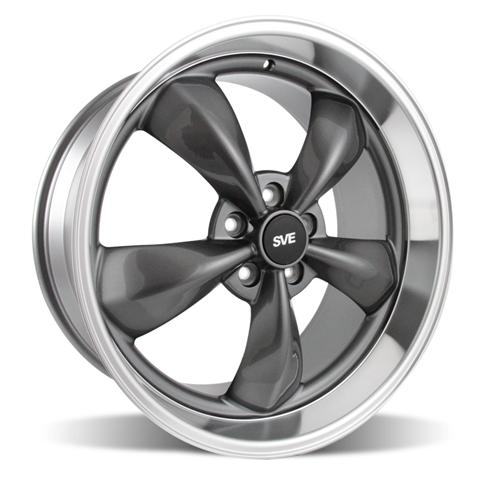 "2005-14 Mustang Bullitt Wheel 20x10"" Anthracite - Picture of 2005-14 Mustang Bullitt Wheel 20x10"" Anthracite"