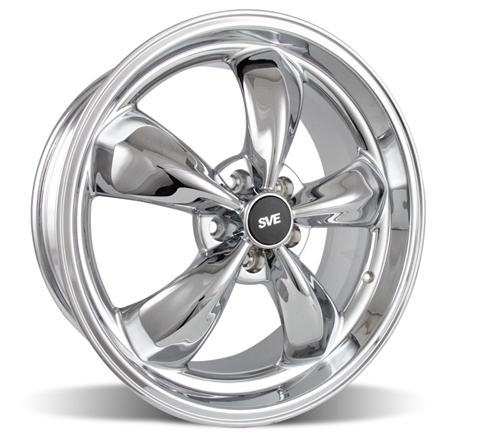 "2005-14 Mustang Bullitt Wheel 20x8.5"" Chrome - Picture of 2005-14 Mustang Bullitt Wheel 20x8.5"" Chrome"