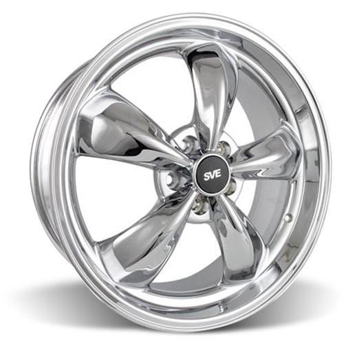 Mustang Bullitt Wheel - 20x8.5 Chrome (05-15)