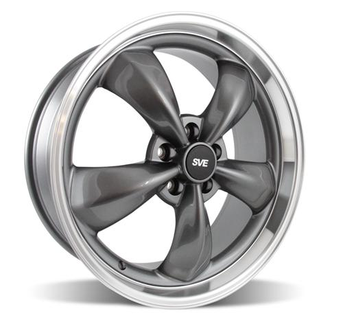 "2005-14 Mustang Bullitt Wheel 20x8.5"" Anthracite"