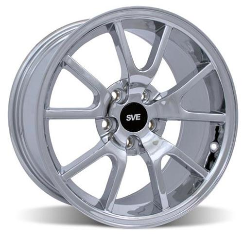 Mustang FR500 Wheel - 20x8.5 Chrome (05-14) - Mustang FR500 Wheel - 20x8.5 Chrome (05-14)