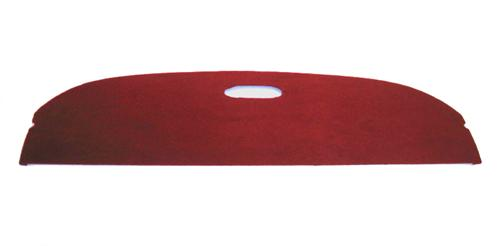 Mustang Rear Package Tray Scarlet Red (87-92) LX Coupe