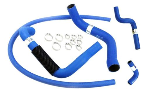 1994-95 Mustang Goodyear Super Hi-Miler Blue Hose & Clamp Kit - Picture of 1994-95 Mustang Goodyear Super Hi-Miler Blue Hose & Clamp Kit