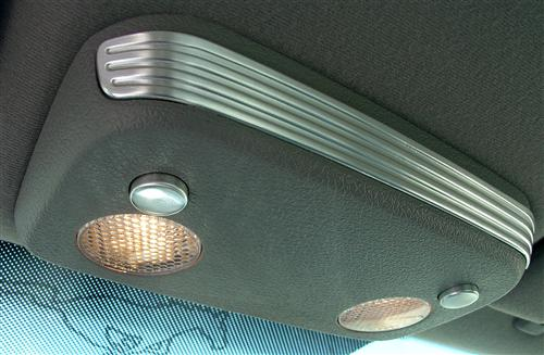 Mustang Map Light Trim Brushed Aluminum (05-14)