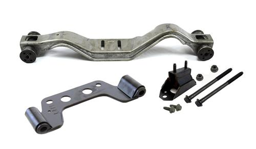 Mustang T-5 Adjustable Crossmember Kit (86-93) - Mustang T-5 Adjustable Crossmember Kit (86-93)