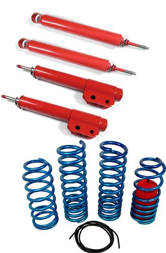 Eibach Mustang Drag Launch Spring And Lakewood Drag Shock & Strut Kit (79-93)