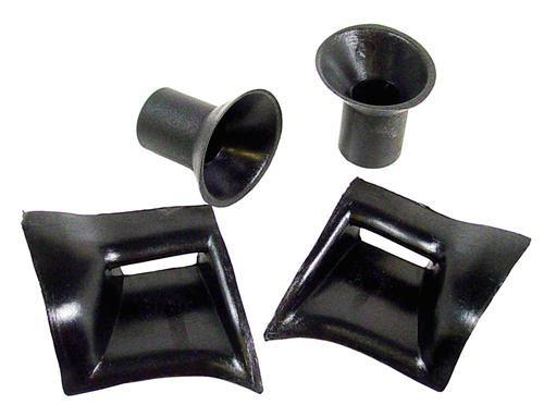 Mustang Convertible J-Hook And Dowel Pin Receptacle Kit (83-93)