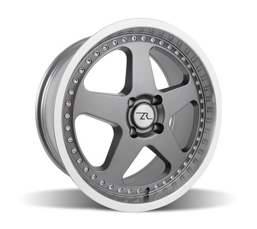 Mustang Saleen SC Wheel - 18x8.5 Gun Metal w/ Mirror Lip & Rivets (79-93)