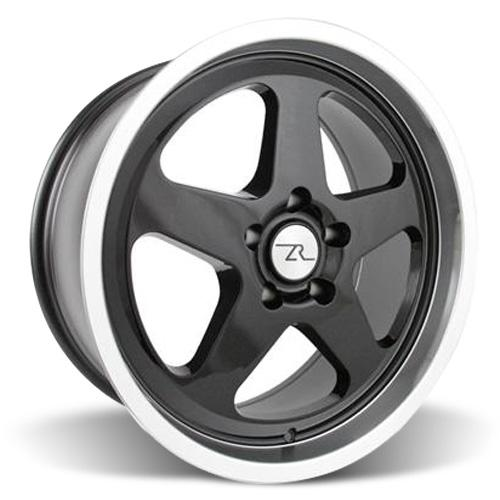 Mustang Saleen SC Wheel - 18x8.5 Black w/ Mirror Lip (94-04) - Mustang Saleen SC Wheel - 18x8.5 Black w/ Mirror Lip (94-04)