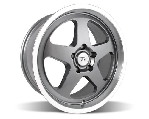 1994-04 Mustang Saleen SC Wheels 18x8.5 Gun Metal w/ Mirror Lip