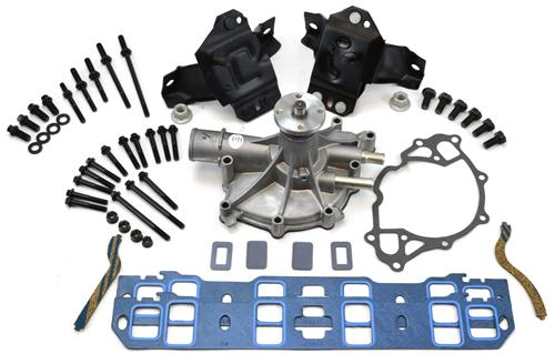 1979-93 Mustang Crate Engine Finishing Kit, 5.0L & 5.8L
