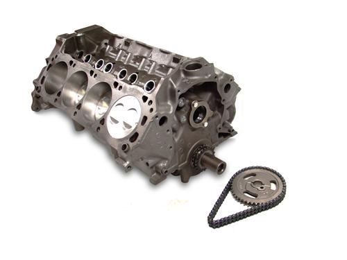 Mustang 5.0L 302 Economy Short Block w/ Forged Pistons Accepts Roller Cam (79-95)