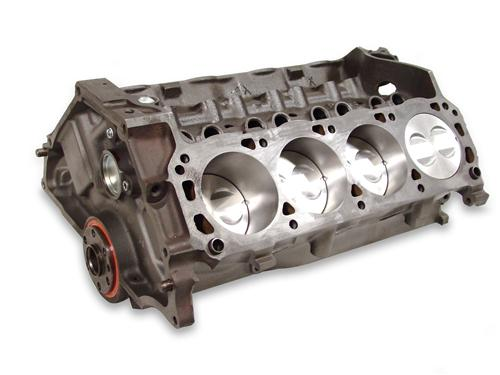 79-95 MUSTANG 5.0L 302 ECONOMY SHORT BLOCK WITH FORGED PISTONS, ACCEPTS ROLLER CAM