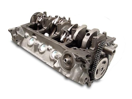 Mustang 5.0L 302 Short Block Accepts Roller Cam