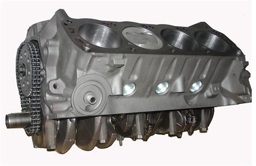 Mustang 5.8L 351 Economy Short Block Accepts Roller Cam (79-95)