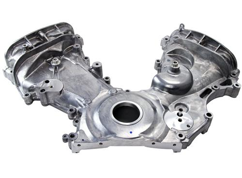 Mustang Timing Cover w/ A/C Tensioner Boss (11-14) - Mustang Timing Cover w/ A/C Tensioner Boss (11-14)