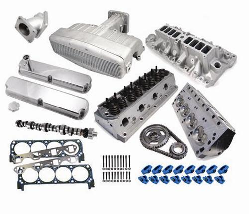 1994-1995 Mustang 5.0L Top End Engine Kit with Satin Professional Products Typhoon Intake, - Picture of 1994-1995 Mustang 5.0L Top End Engine Kit