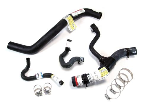 Mustang Radiator Hose Kit w/ Clamps (96-98) 4.6 2V