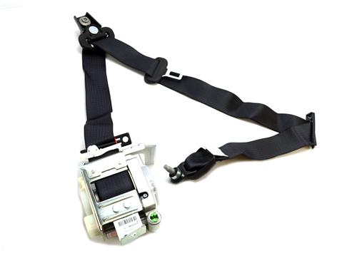 Mustang LH Front Seat Belt Assembly  Midnight Black (05-07) Convertible