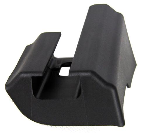 Mustang RH Inside Seat Track Foot Cover  - Rear of Front Seats (05-14) - Mustang RH Inside Seat Track Foot Cover  - Rear of Front Seats (05-14)