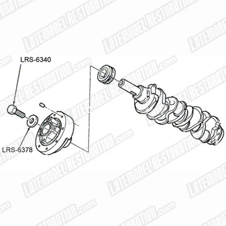 Mustang Crank Bolt & Washer Kit (79-95) 5.0  5.8