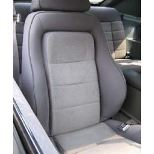 Mustang Cloth Seat Upholstery Charcoal Grey (1984) SVO