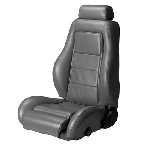 Mustang Leather Seat Upholstery Dark Gray (85-86) SVO - Mustang Leather Seat Upholstery Dark Gray (85-86) SVO