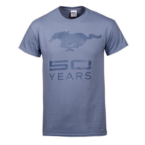 50 Year Stone Blue T-Shirt - Picture of 50 Year Stone Blue T-Shirt