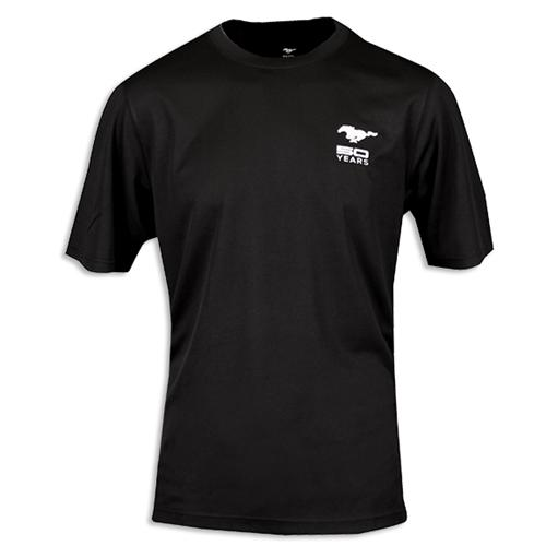 50 Year Black Performance Tee Moisture Wicking, Antimicrobial And Uv Protection - Picture of 50 Year Black Performance Tee Moisture Wicking, Antimicrobial And Uv Protection