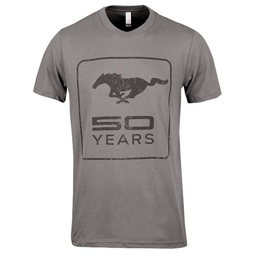 50 Year Charcoal T-Shirt - Picture of 50 Year Charcoal T-Shirt