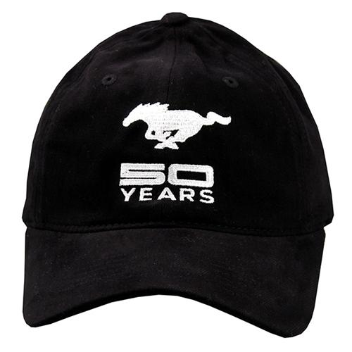 50 Year Solid Black Cap - Picture of 50 Year Solid Black Cap