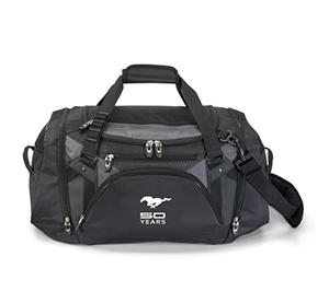 50 Year Black Vertex Duffel Bag - Picture of 50 Year Black Vertex Duffel Bag