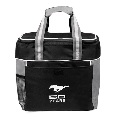 50 Year Black Cooler Bag - Picture of 50 Year Black Cooler Bag