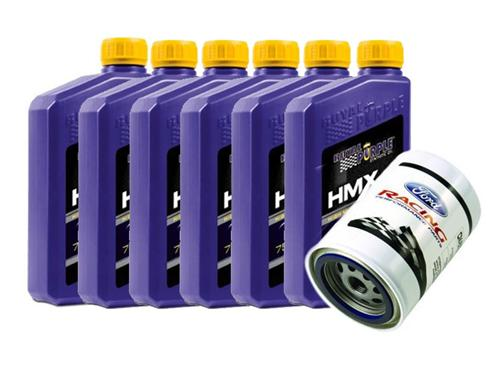 96-00 Mustang Royal Purple HMX 10w30 High Mileage Oil Change Kit for 4.6L 2V and 4V - 96-00 Mustang Royal Purple HMX 10w30 High Mileage Oil Change Kit for 4.6L 2V and 4V