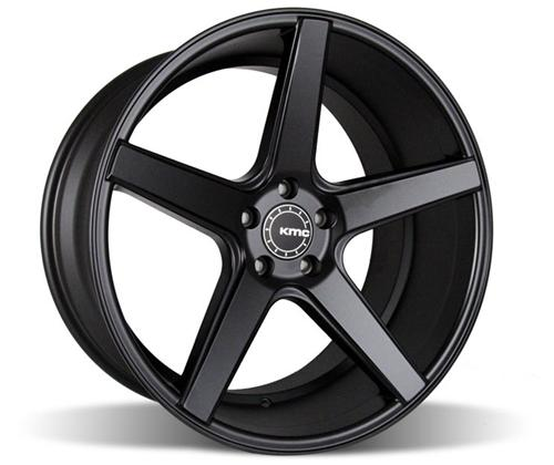 2005-14 Mustang KMC 685 District Wheel Black 20x10.5 Offset +35 backspace 7.13