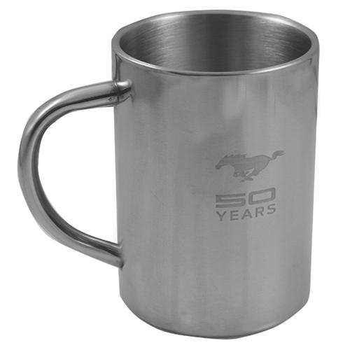 50 Year Stainless Coffee Mug - Picture of 50 Year Stainless Coffee Mug