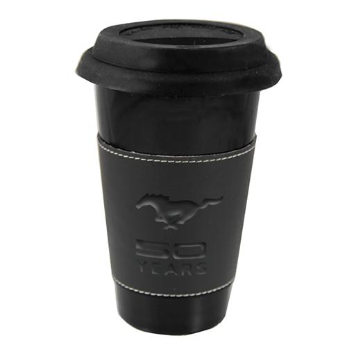 50 Year Black Ceramic Tumbler - Picture of 50 Year Black Ceramic Tumbler