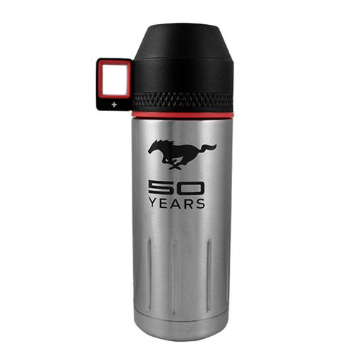 50 Year Stainless Steel Insulated Bottle w/ Dinking Lid - Picture of 50 Year Stainless Steel Insulated Bottle w/ Dinking Lid