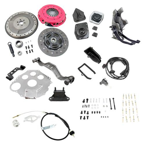 Mustang 5 Speed Swap Pedal Assembly Kit (79-93 - Mustang 5 Speed Swap Pedal Assembly Kit (79-93