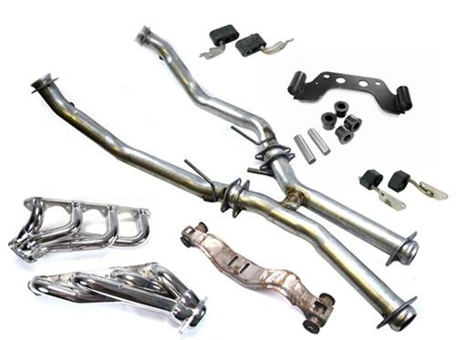 Mustang Dual Exhaust Conversion Kit For Manual Transmission (79-85) 5.0 - Picture of Mustang Dual Exhaust Conversion Kit For Manual Transmission (79-85) 5.0