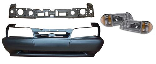 1987-93 Mustang LX Front Bumper Cover Kit