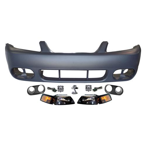Mustang Cobra Front Bumper Cover Kit (03-04) - Mustang Cobra Front Bumper Cover Kit (03-04)