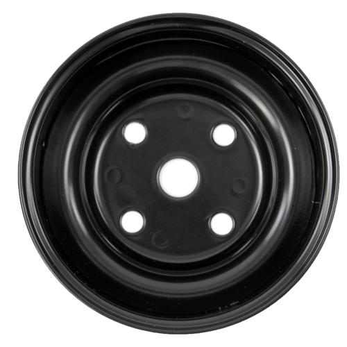 Mustang Stock Steel Pulley Kit  Black (79-93) - Mustang Stock Steel Pulley Kit  Black (79-93)