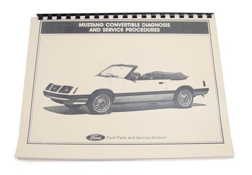 Mustang Convertible Top Guide Book (83-93)