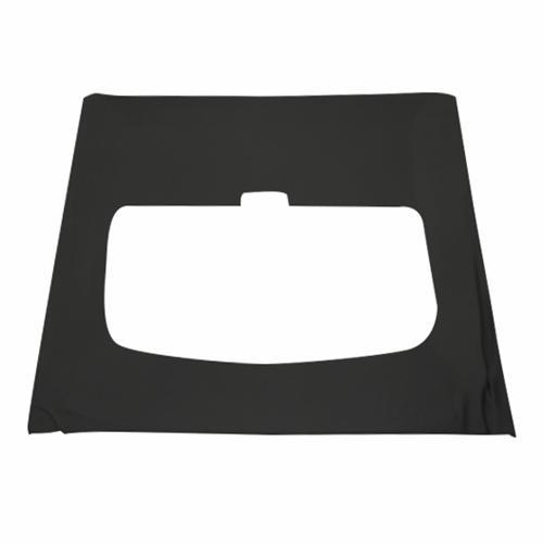 Mustang Suede Headliner w/ ABS Board Black  (85-92) Coupe w/ Sunroof