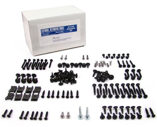 87-93 MUSTANG COUPE INTERIOR SCREW KIT