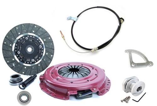 "1996-04 Mustang Ram Hdx Clutch Kit with Clutch Cable, Quadrant, & Firewall Adjuster.  Kit Consists Of:  Ram-88951Hdx 11"" Clutch Lrs-7553J"